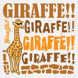 Giraffe!! - Men's Premium T-Shirt