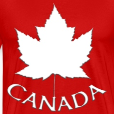 Canada Souvenir Men's 4XL T-shirt Canadian Maple L