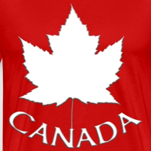 Canada Souvenir Men's 4XL T-shirt Canadian Maple L - Men's Premium T-Shirt