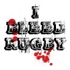 I Love Rugby T-Shirt - Men's Premium T-Shirt