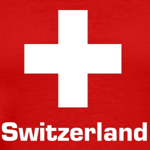 Switzerland flag T-Shirts - Men's Premium T-Shirt