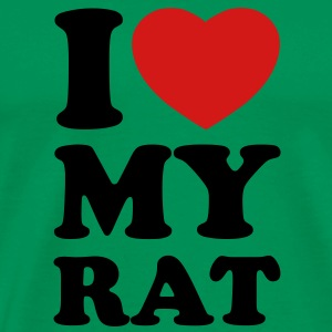 I love my rat T-Shirts - Men's Premium T-Shirt