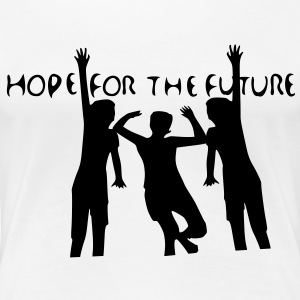 Hope For the Future Women's Plus Size Basic T-Shir - Women's Premium T-Shirt