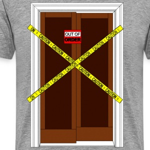 BROKEN LIFT DOOR T-Shirts - Men's Premium T-Shirt