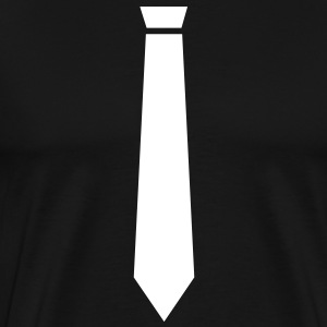 suit up tie T-Shirts - Men's Premium T-Shirt