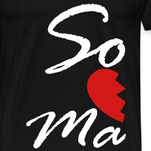 soul mate - right T-Shirts - Men's Premium T-Shirt