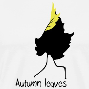 Autumn leaves T-Shirts - Men's Premium T-Shirt