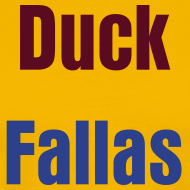 Design ~ Duck Fallas Burgundy Warpath Tee