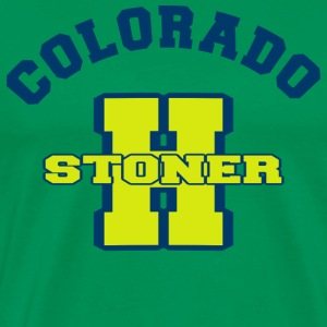 Marijuana Stoner Colorado T-Shirt - Men's Premium T-Shirt
