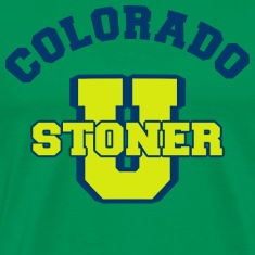 Marijuana Stoner Colorado T-Shirt