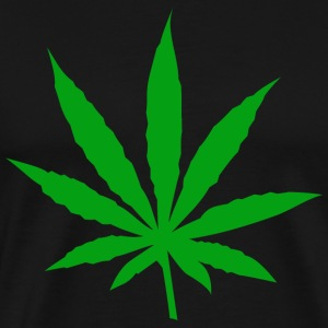 Marijuana Leaf T-Shirt - Men's Premium T-Shirt