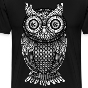 Animal t shirts spreadshirt T shirt with owl design