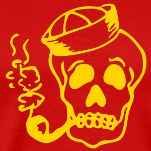 Sailor Skull T-Shirts - Men's Premium T-Shirt