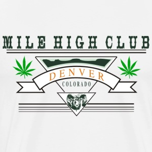 Marijuana Denver Colorado T-Shirt - Men's Premium T-Shirt