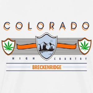 Marijuana Breckenridge Colorado T-Shirt - Men's Premium T-Shirt