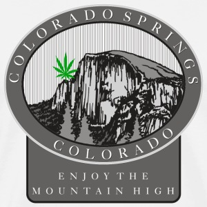Marijuana Colorado Springs T-Shirt - Men's Premium T-Shirt