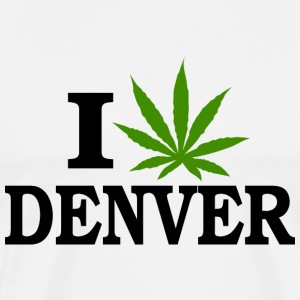 I Love Marijuana Denver Colorado T-Shirt - Men's Premium T-Shirt