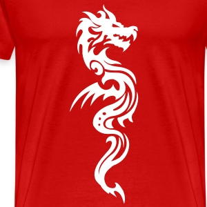 Dragon Tribal T-Shirts - Men's Premium T-Shirt