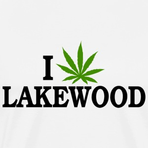 I Love Marijuana Lakewood Colorado T-Shirt - Men's Premium T-Shirt
