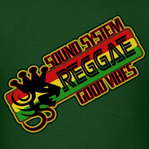 sound system reggae good vibes T-Shirts - Men's T-Shirt
