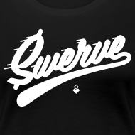 Design ~ Swerve - Black Womens T-Shirt