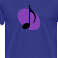 Design ~ Purple Music Emblem (Black)