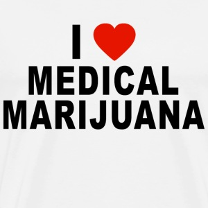 I Love Medical Marijuana T-Shirt - Men's Premium T-Shirt