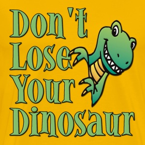 Don't Lose Your Dinosaur Stepbrothers T-Shirts - Men's Premium T-Shirt