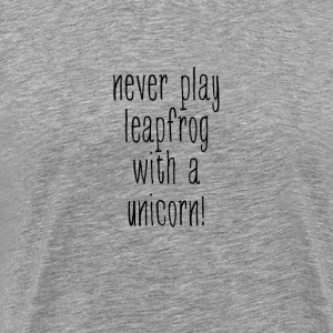 Unicorn leapfrog - Men's Premium T-Shirt