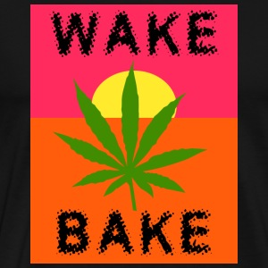 Marijuana Wake & Bake T-Shirt - Men's Premium T-Shirt