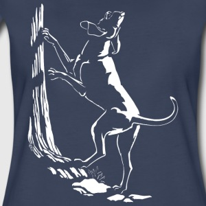 Hound Dog Shirt Hunting Dog Gifts Womens - Women's Premium T-Shirt