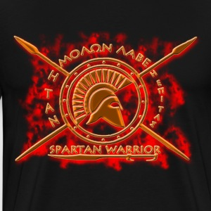 spartan warrior - Men's Premium T-Shirt