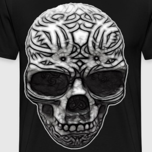 Decorated Skull | Men's plus size - Men's Premium T-Shirt