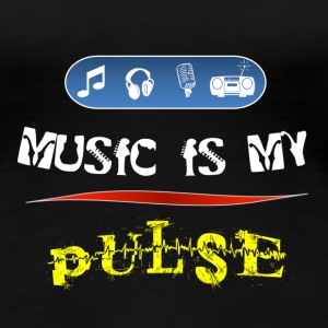Music is my pulse! - Women's Premium T-Shirt