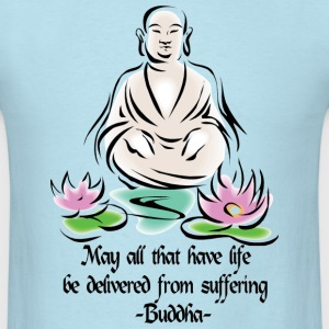 Vegetarian Buddha T-Shirt - Men's T-Shirt