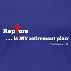 Rapture is MY retirement plan - Royal Blue