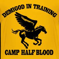 Design ~ DEMIGOD IN TRAINING Pegasus Half-Blood Kids T-Shirt
