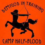Design ~ DEMIGOD IN TRAINING Centaur Men's T-Shirt