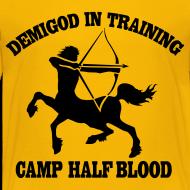 Design ~ DEMIGOD IN TRAINING Centaur Kid's T-Shirt - Half-Blood T-Shirt