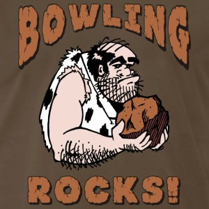 Bowling Rocks T-Shirt - Men's Premium T-Shirt