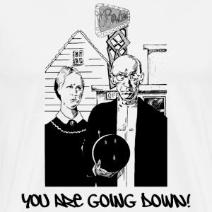 Bowling You Are Going Down T-Shirt - Men's Premium T-Shirt