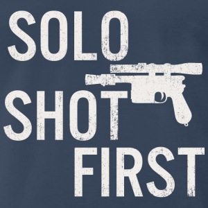 Solo Shot First - Men's Premium T-Shirt
