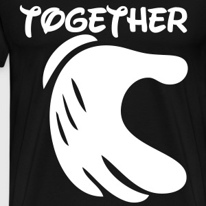 together forever T-Shirts - Men's Premium T-Shirt