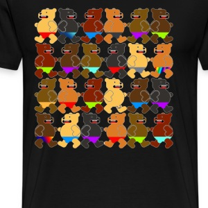 BEARS OF SUMMER T-Shirts - Men's Premium T-Shirt