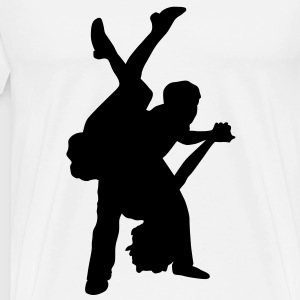 dancers 1 T-Shirts - Men's Premium T-Shirt