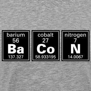 Ba Co N (Bacon) Periodic Elements  T-Shirts - Men's Premium T-Shirt