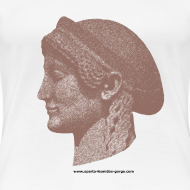 Design ~ Spartan women head shirt
