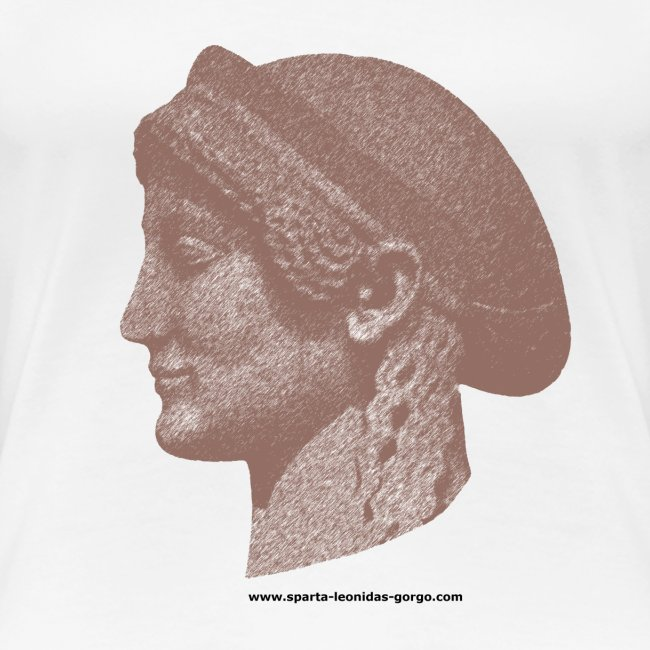 Spartan women head shirt