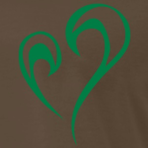 tribal heart T-Shirts - Men's Premium T-Shirt