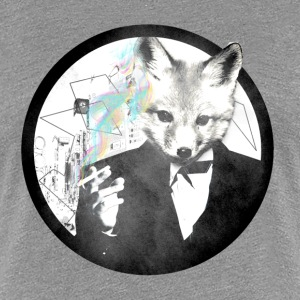 Smoking Fox- Women - Women's Premium T-Shirt